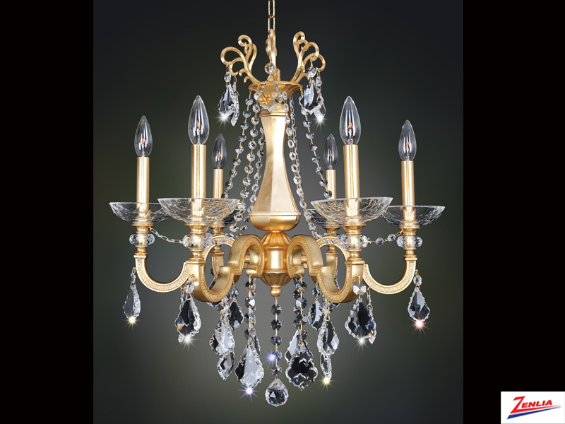 Barr 6 Light Chandelier