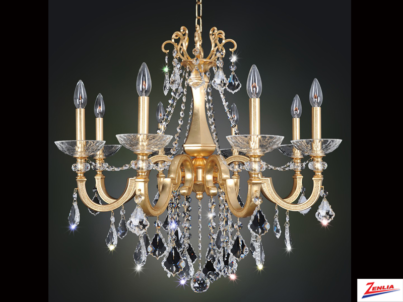 Barr 8 Light Chandelier