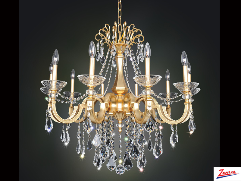 Barr 10 Light Chandelier