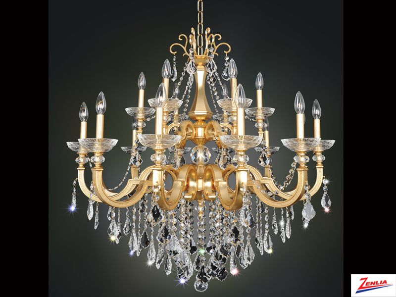 Barr 18 Light Chandelier