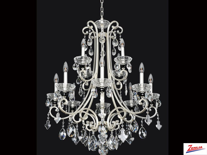 Bede 12 Light Chandelier