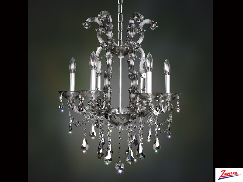 Bram 6 Light Chandelier