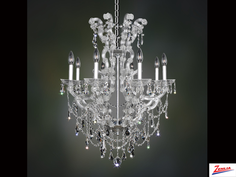 Bram 8 Light Chandelier