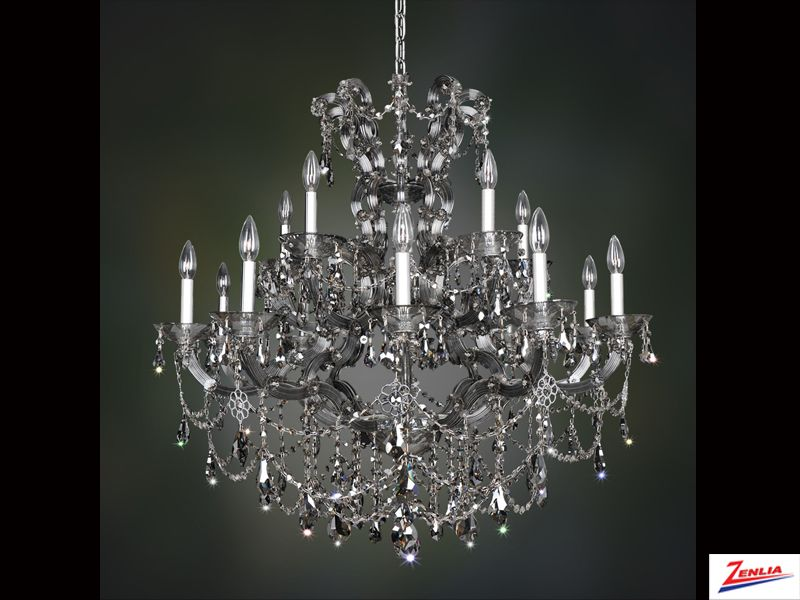 Bram 15 Light Chandelier