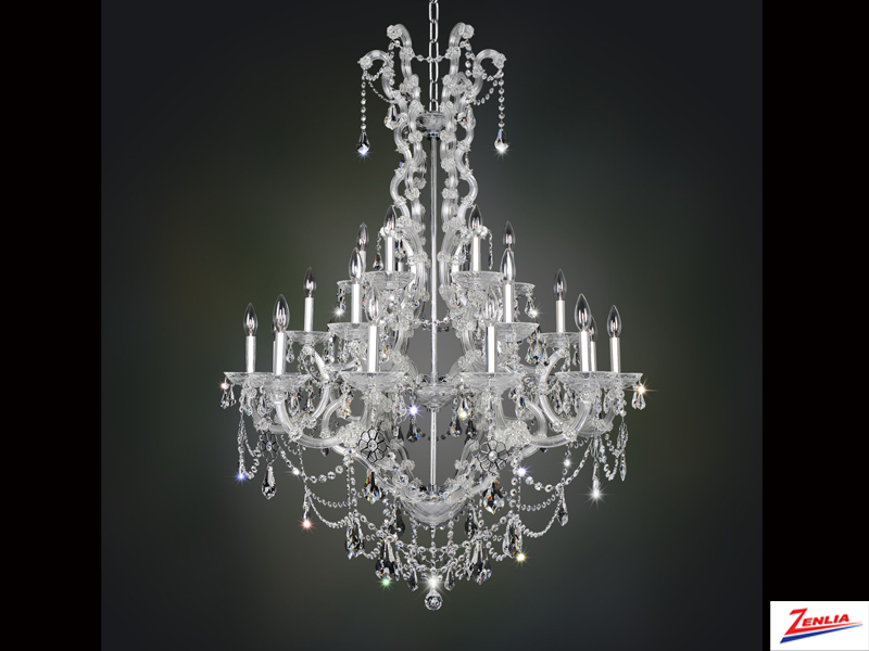 Bram 24 Light Chandelier