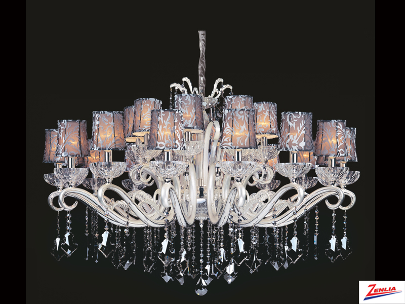 Brit 24 Light Chandelier