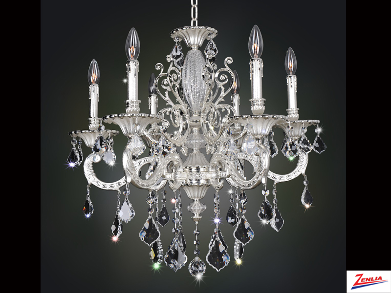 Case 6 Light Chandelier