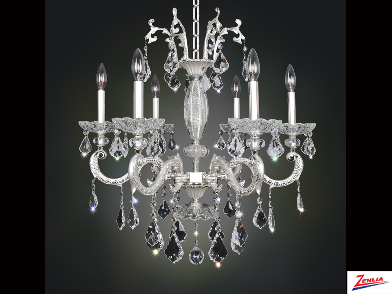 Case 6 Light Chandelier 2