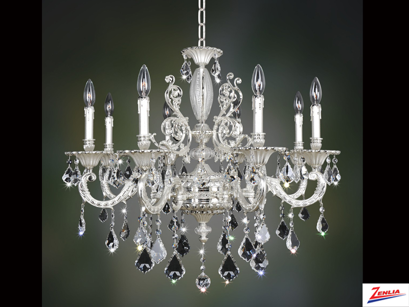 Case 8 Light Chandelier