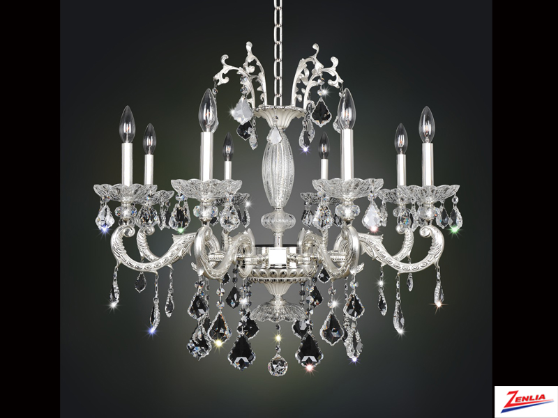 Case 8 Light Chandelier 2