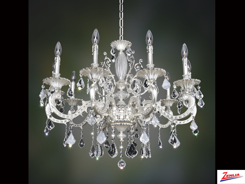 Case 10 Light Chandelier