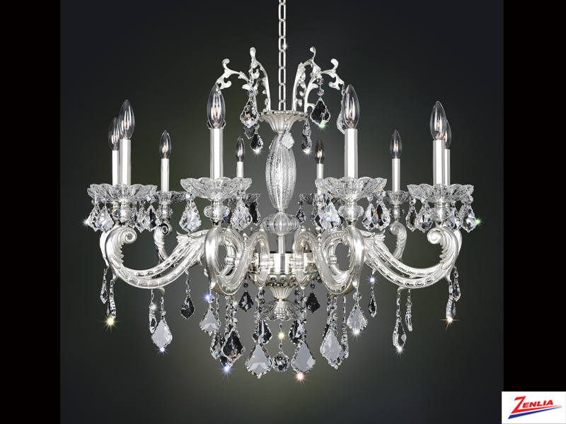 Case 10 Light Chandelier 2
