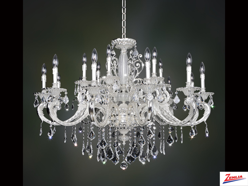 Case 18 Light Chandelier