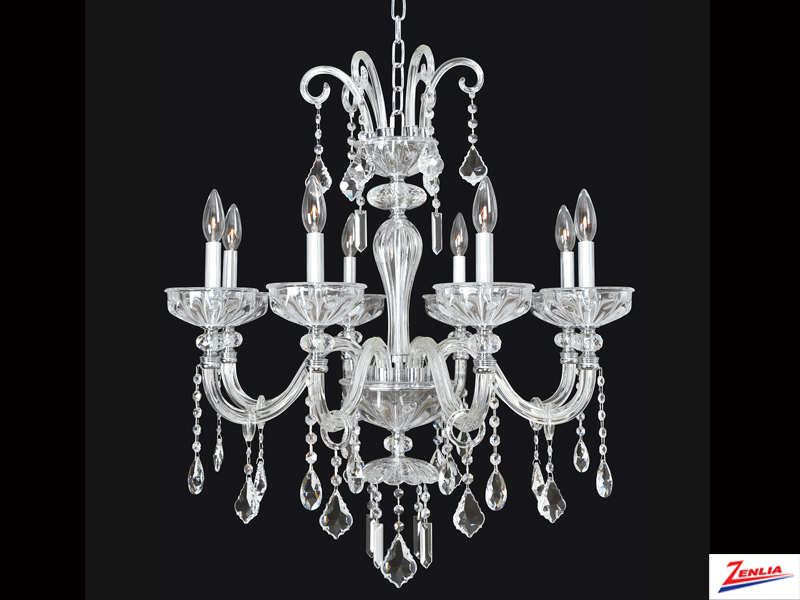 Clov 8 Light Chandelier