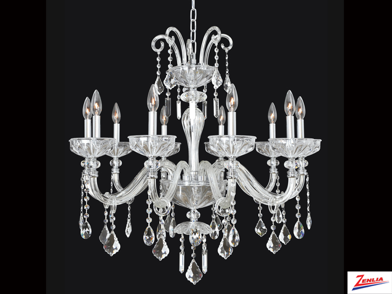 Clov 10 Light Chandelier