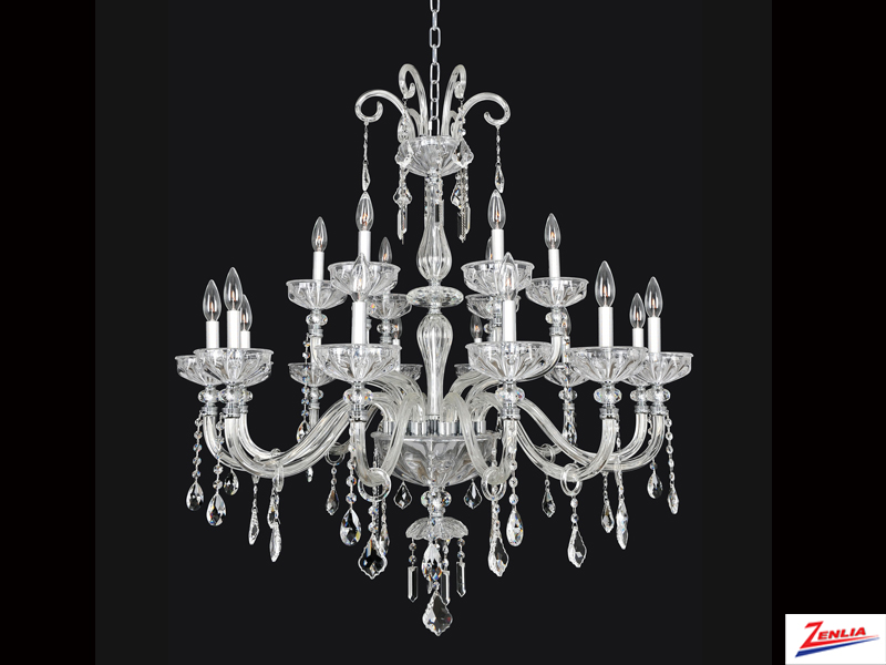 Clov 18 Light Chandelier