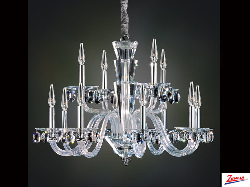 Fansh 12 Light Chandelier