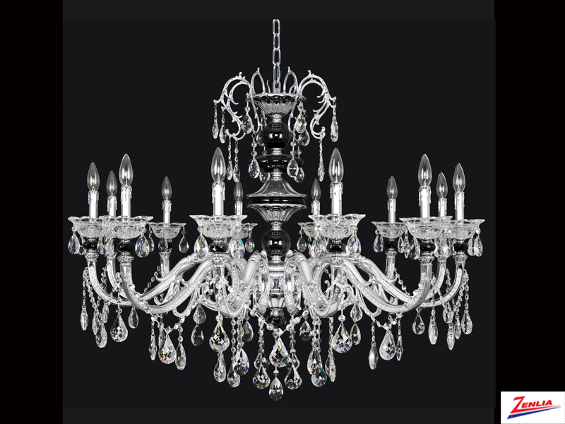 Faur 12 Light Chandelier