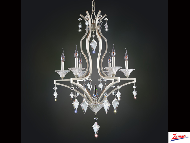 Floren 6 Light Chandelier