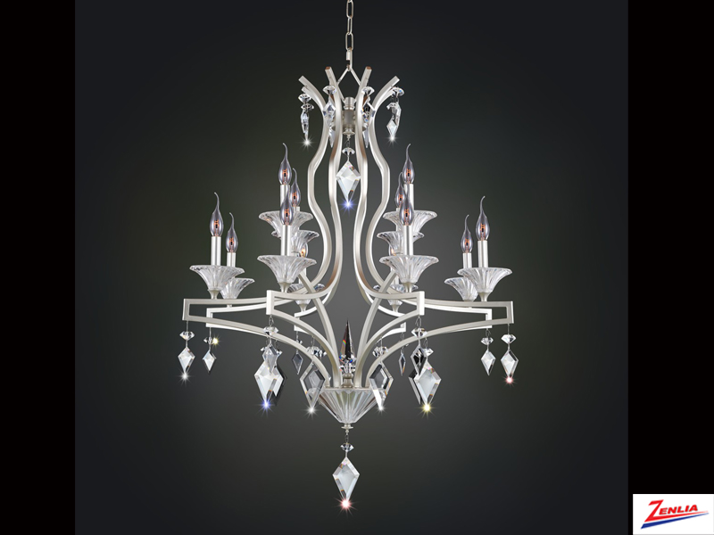 Floren 12 Light Chandelier