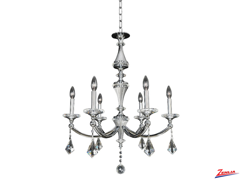 Flori 6 Light Chandelier