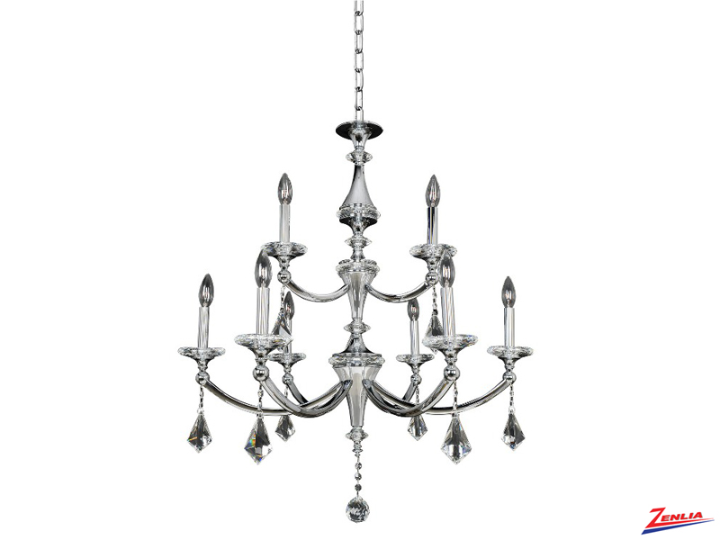 Flori 9 Light Chandelier