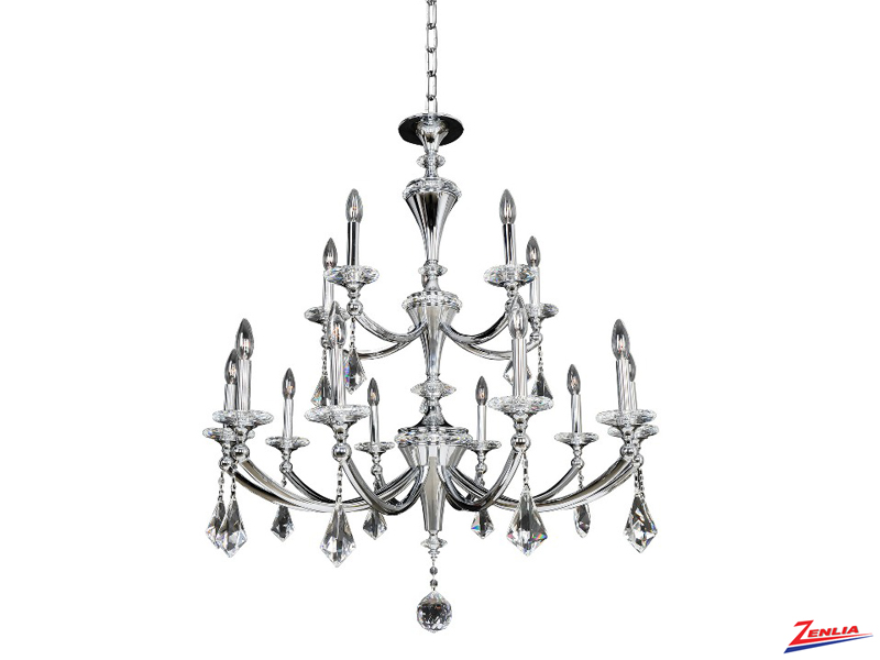Flori 15 Light Chandelier