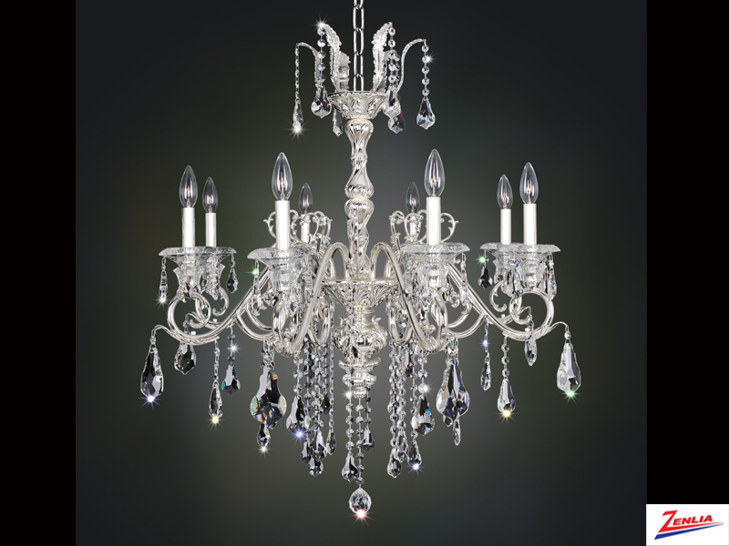 Hayd 8 Light Chandelier