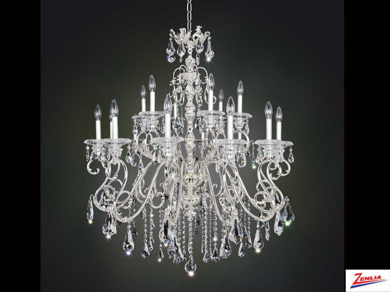 Hayd 18 Light Chandelier
