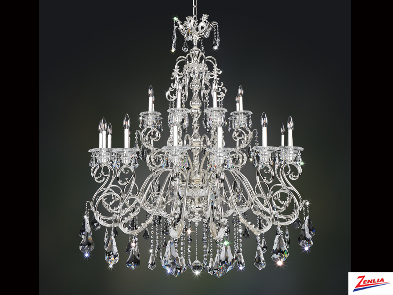 Hayd 24 Light Chandelier