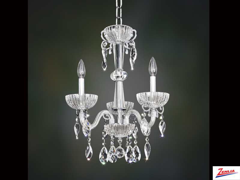 Lava 3 Light Chandelier