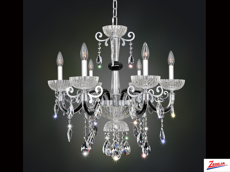 Lava 6 Light Chandelier