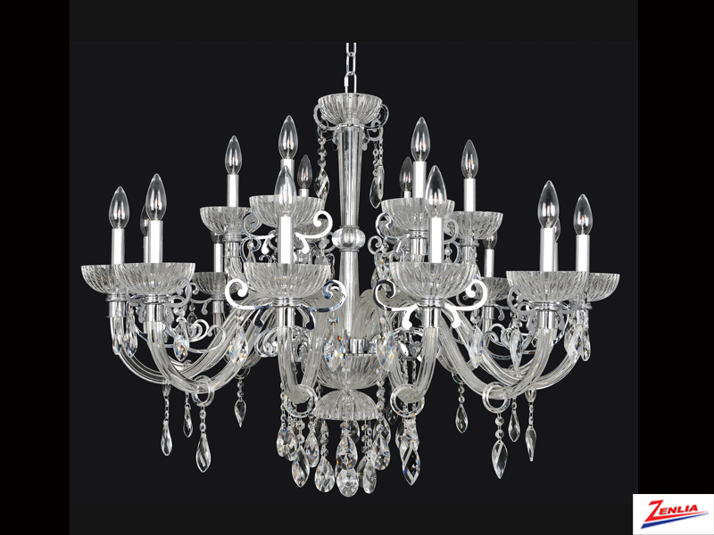 Lava 18 Light Chandelier