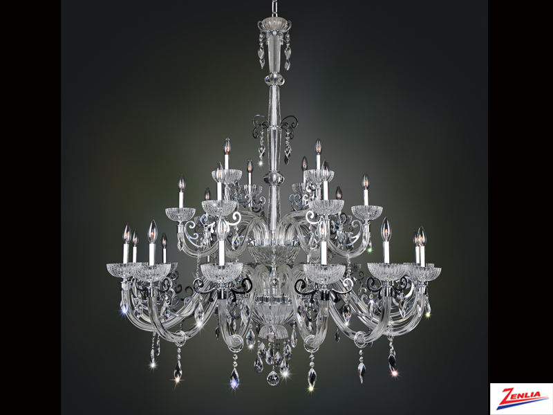 Lava 25 Light Chandelier