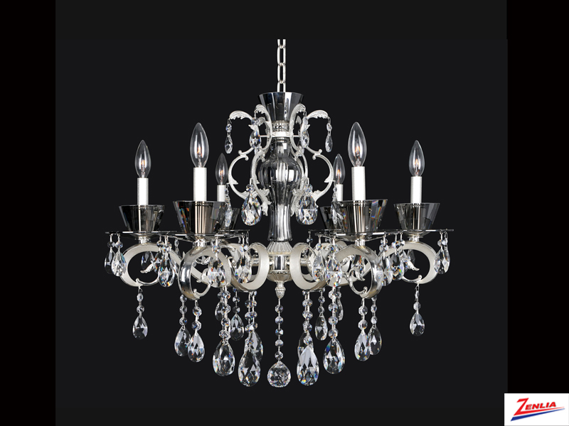 Loca 6 Light Chandelier 2