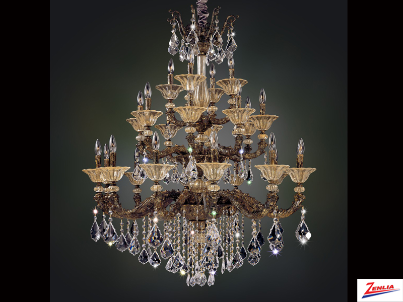 Mendel 24 Light Chandelier