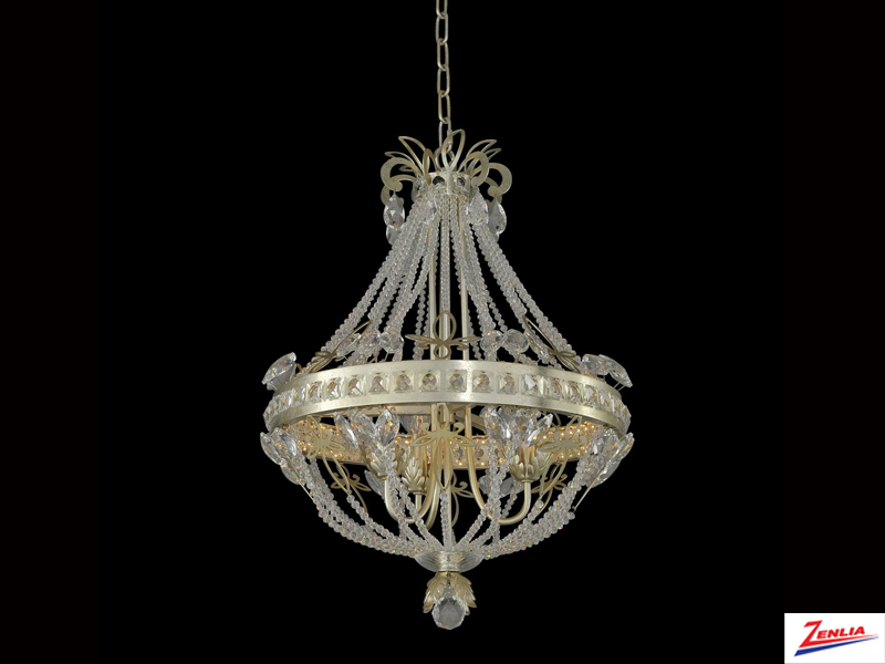 Orle 3 Light + Led Chandelier