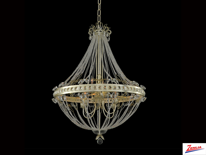 Orle 6 Light + Led Chandelier