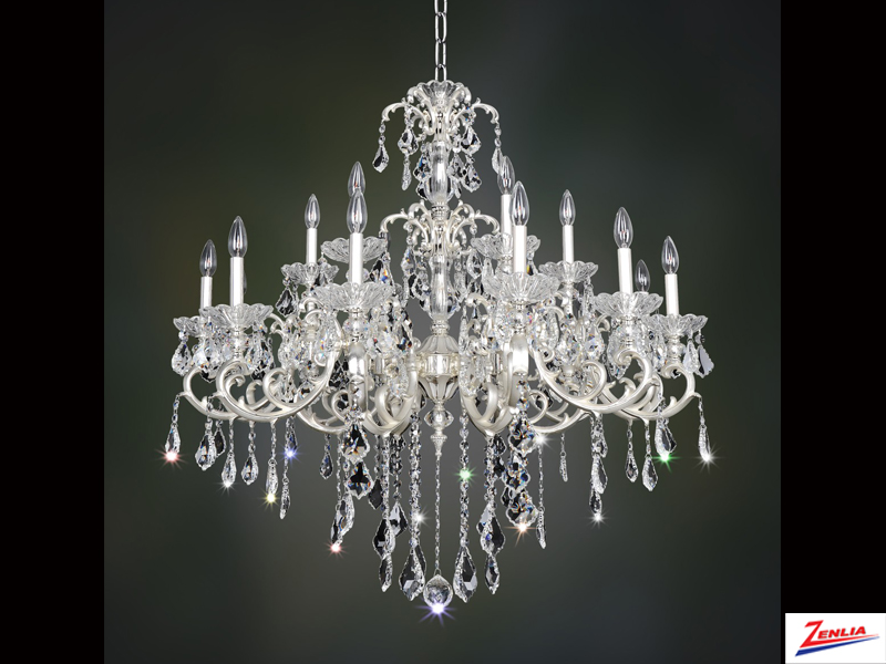 Prae 18 Light Chandelier With French Gold 24/k