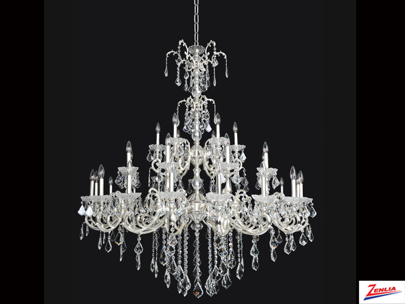 Prae 33 Light Chandelier With French Gold 24/k