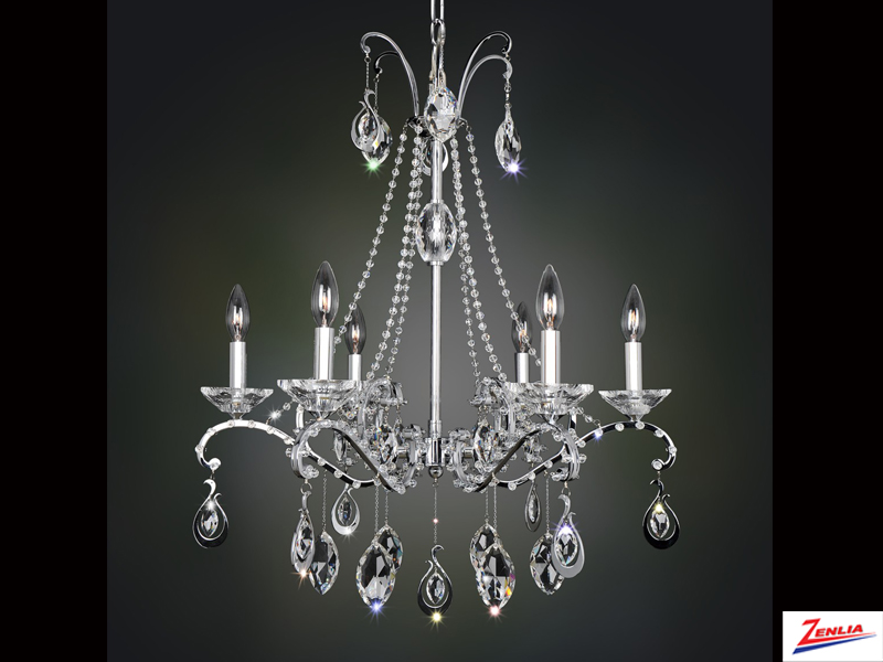 Torre 6 Light Chandelier