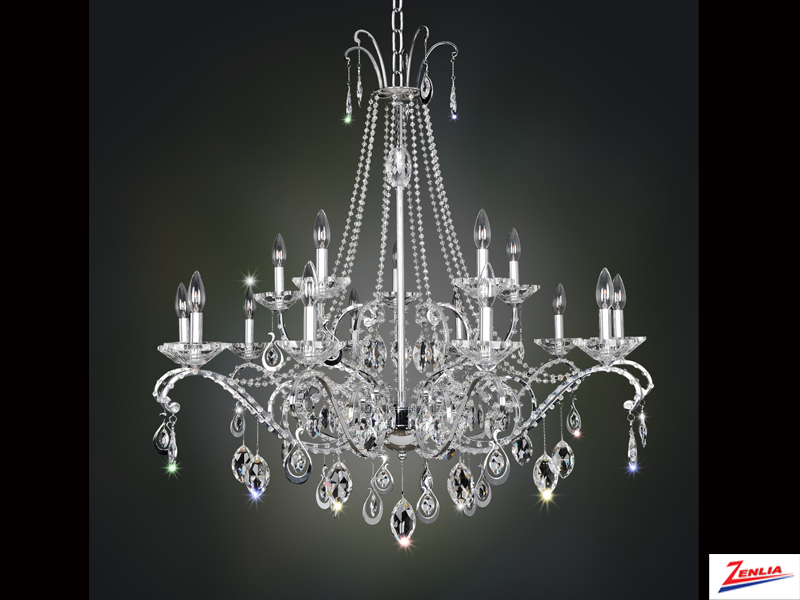 Torre 15 Light Chandelier