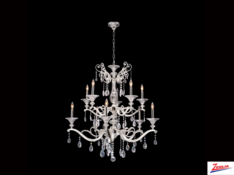 Vasa 10 Light Chandelier