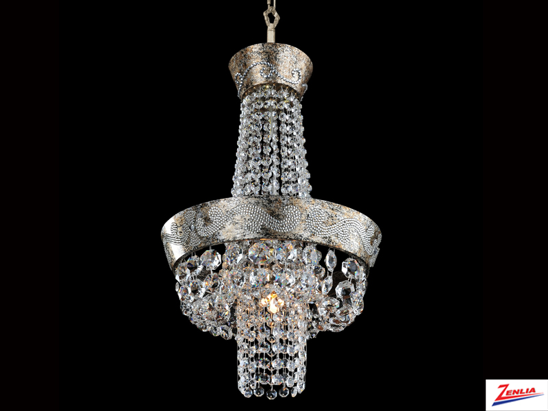 Roma 12 In. D Mini Chandelier
