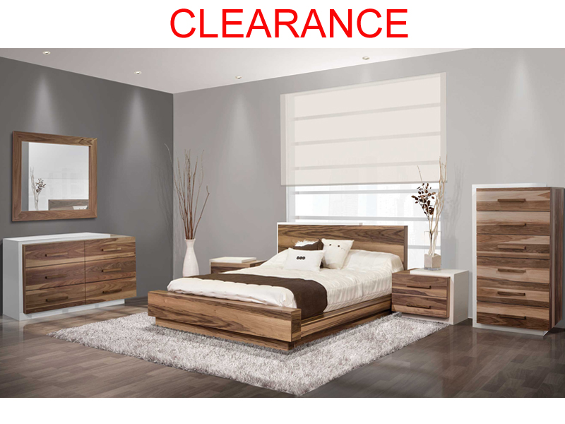 canadian made modern bedroom set - Modern Furniture Calgary
