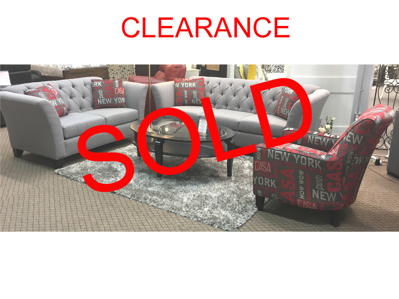 Canadian Made 3 Pc. Sofa Set On Clearance