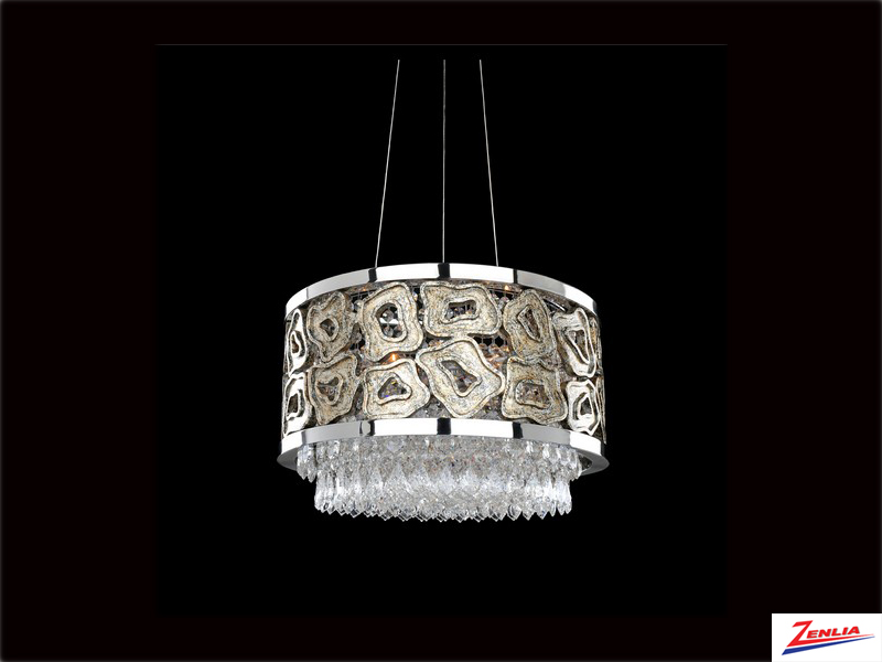Carrav 18 In. Round Convertible Pendant/flush Mount
