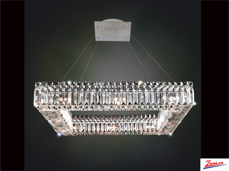 Quad 26 In. Square Pendant