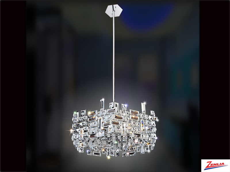 Verm 24 In. Hexagonal Pendant