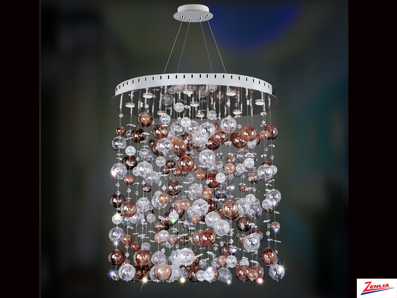 Rube 23 In. X 36 In. Oval Convertible Pendant/flush Mount